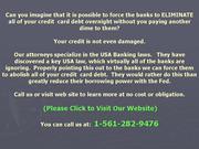 Un-secured Loans eradicated..